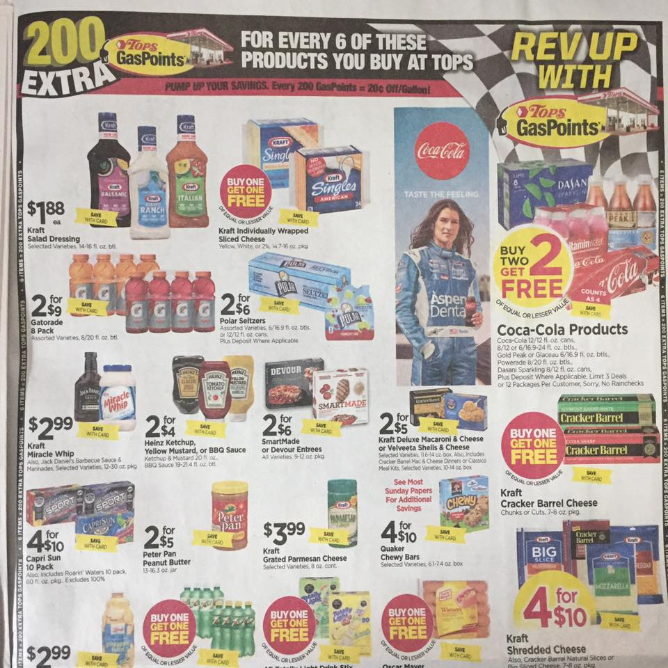 Tops Ad Scan Week Of 7 30 Page 9a