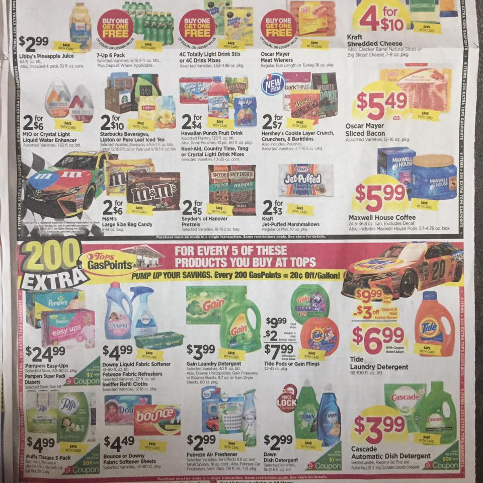 Tops Ad Scan Week Of 7 30 Page 9b