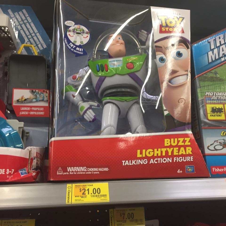 Buzz Lightyear Walmart Toy Clearance