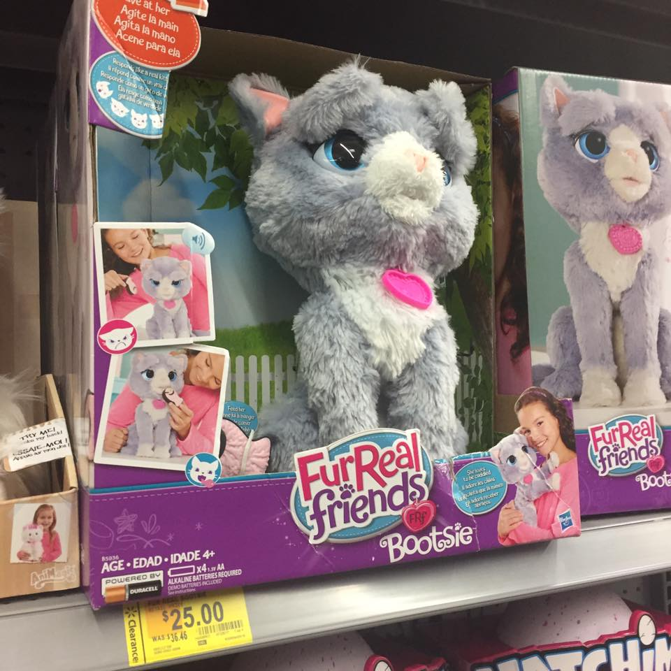 Furreal Pets Walmart Toy Clearance