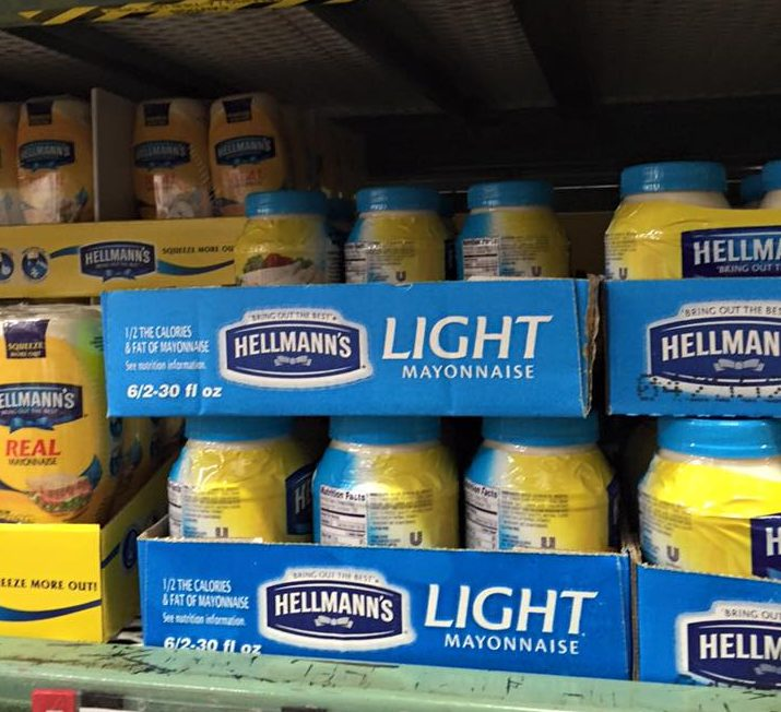 Hellmanns Light