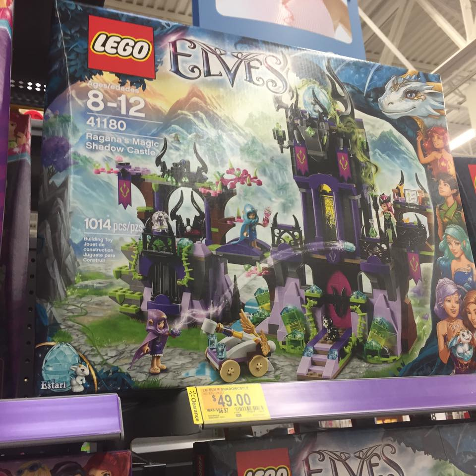 Lego Elves Walmart Toy Clearance