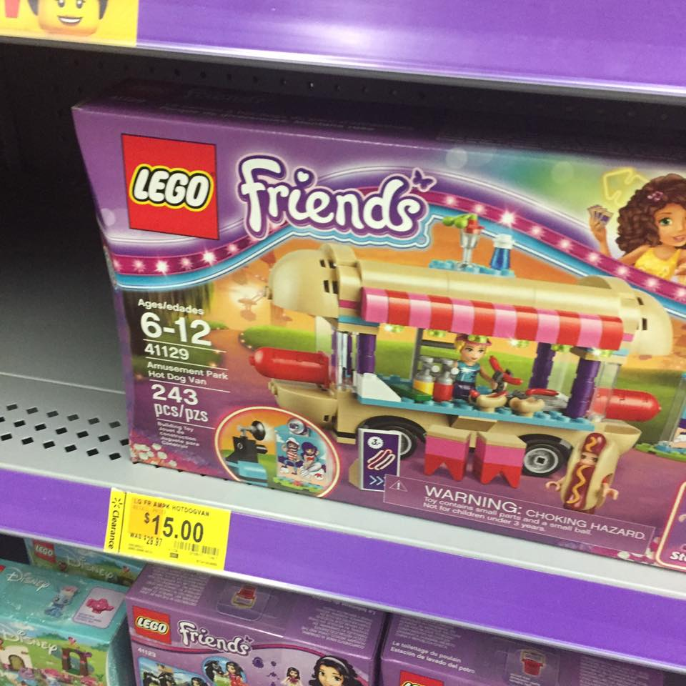 Lego Friend Walmart Toy Clearance