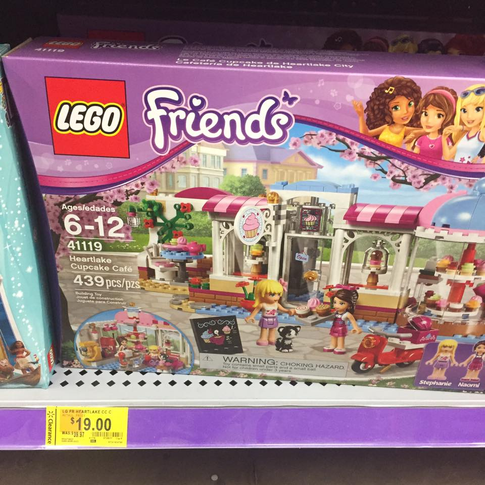 Lego Friends Walmart Toy Clearance