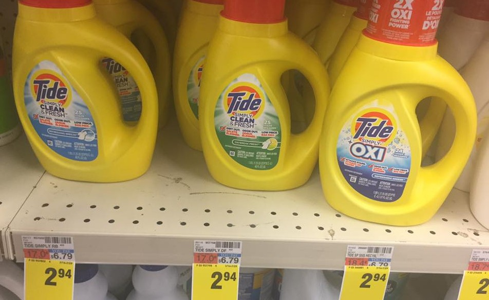 Tide Simply At Cvs