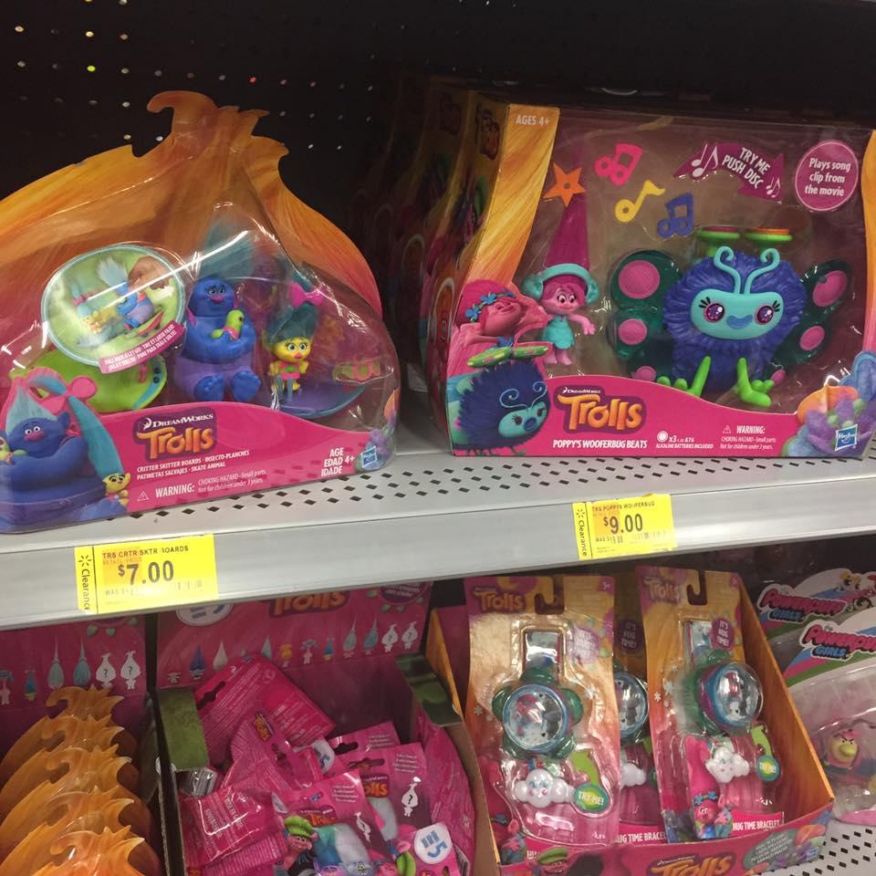 Trolls Walmart Toy Clearance