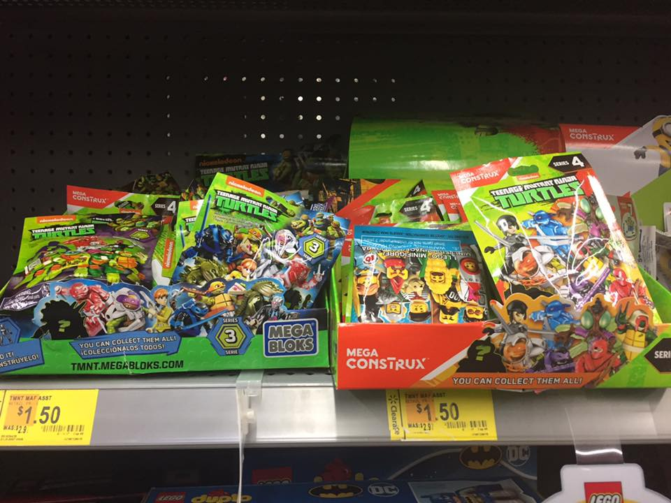 Turtles Walmart Toy Clearance