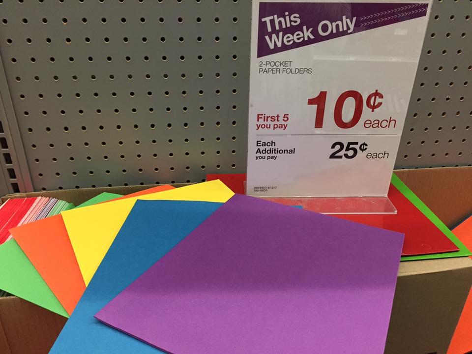 $0 10 Folders At Staples