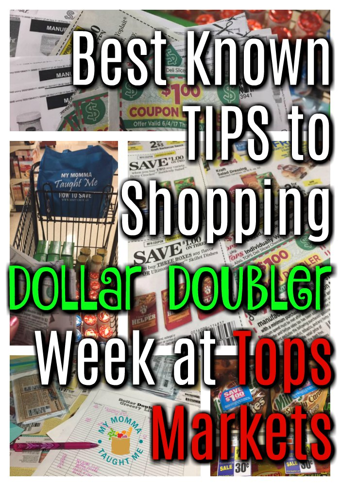 Best Known Tips To Shopping Dollar Doubler Week At Tops Markets