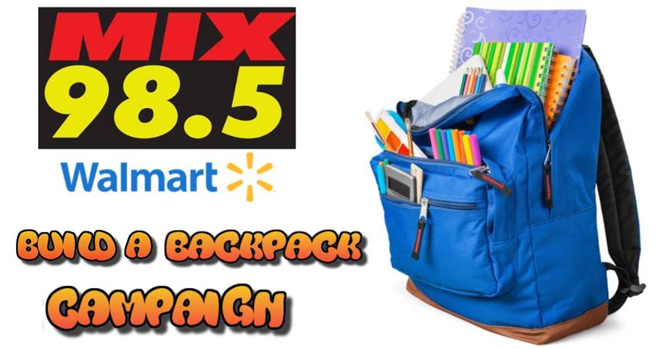 Build A Backpack Campaign Stop # 2 Waterloo Premium Outlets