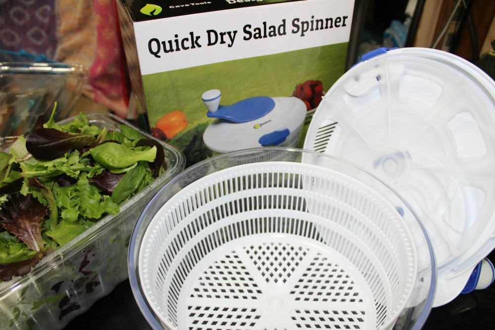 Quick Dry Salad Spinner 1