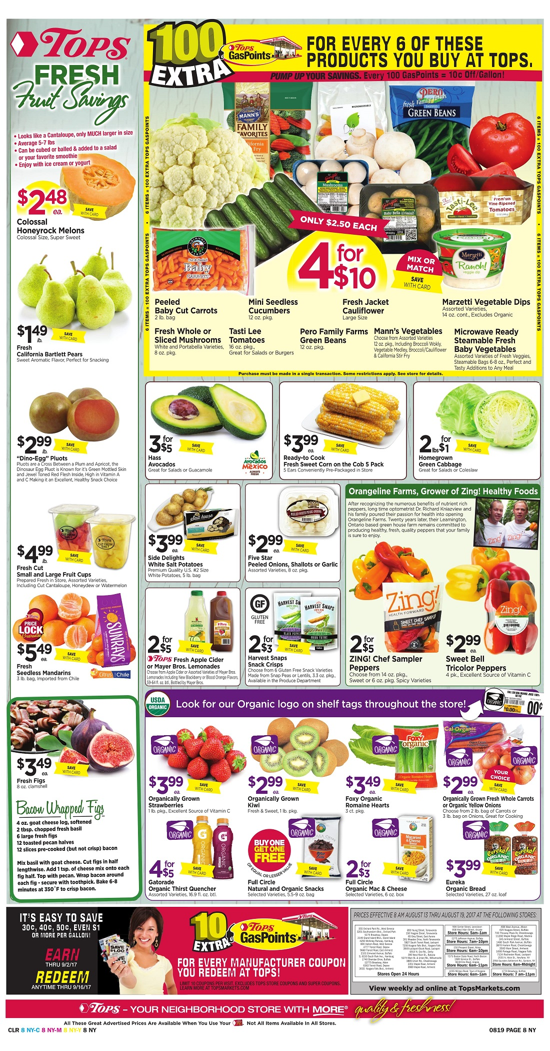 Tops Markets Ad Scan Week Of 8 13 Page 8