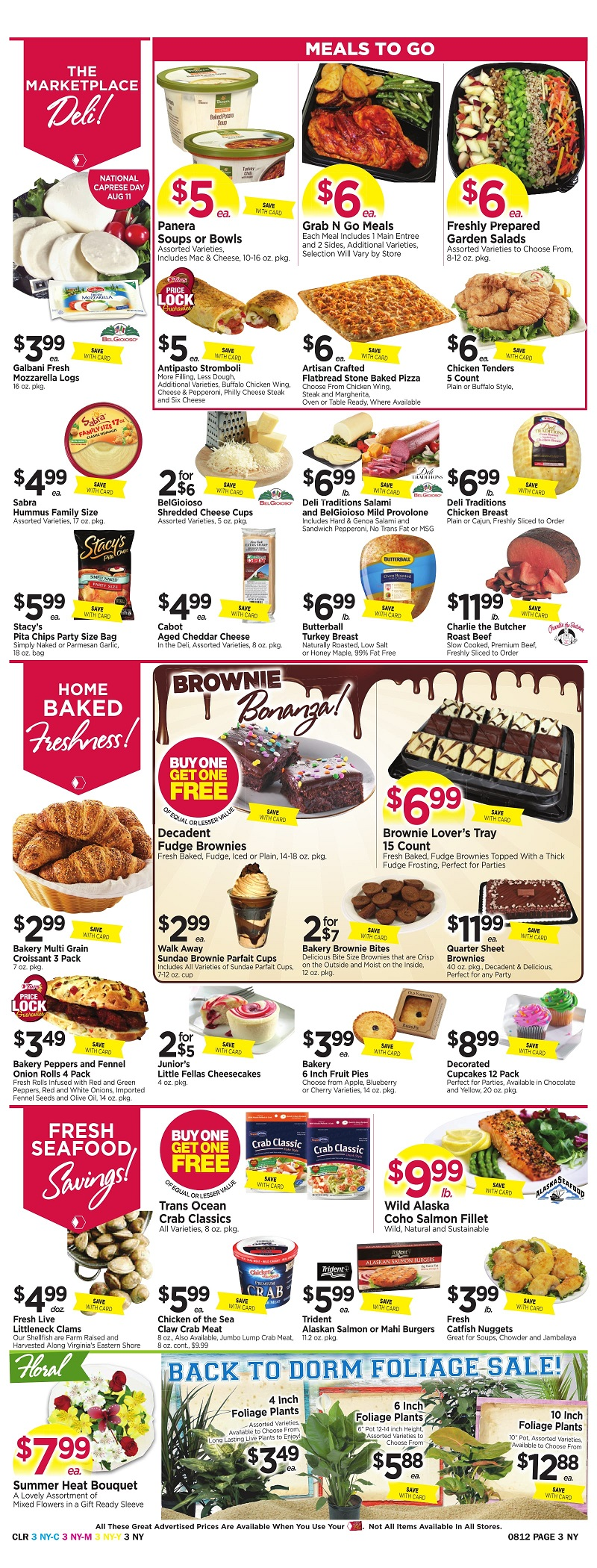 Tops Markets Ad Scan Week Of 8 6 Page 3