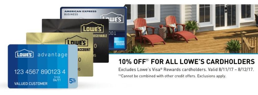 Save 10% At Lowes