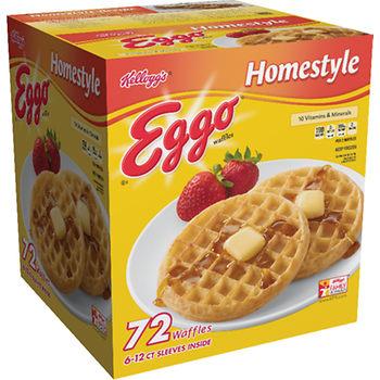 Eggo Homestyle Waffles, 72 Ct At BJ's