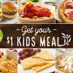 Olive Garden Kids Eat $1 00