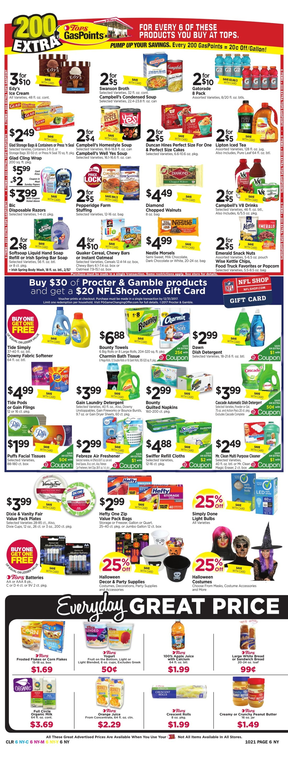 Tops Markets Ad Preview Week 10 15 Page 6