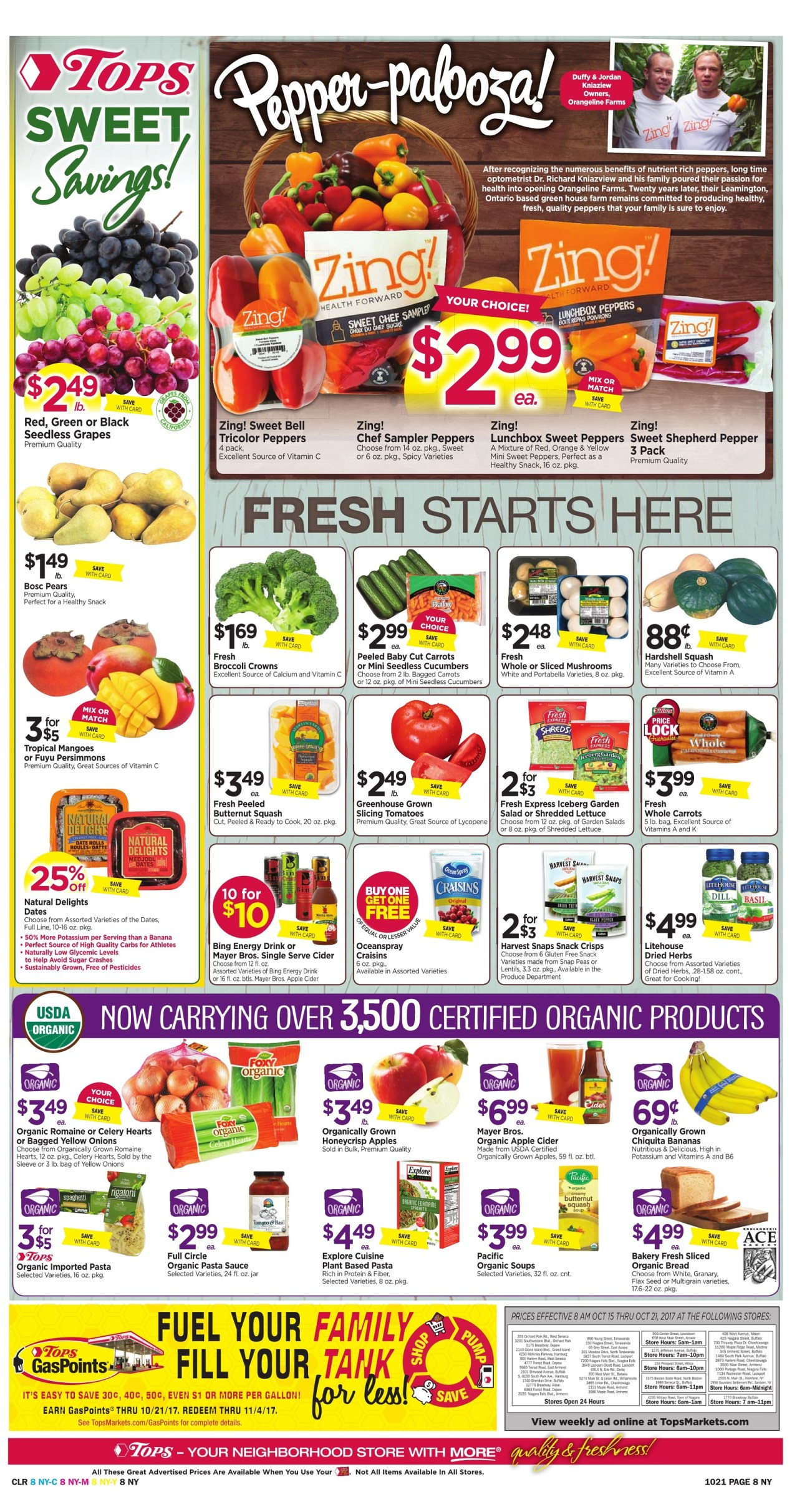 Tops Markets Ad Preview Week 10 15 Page 8