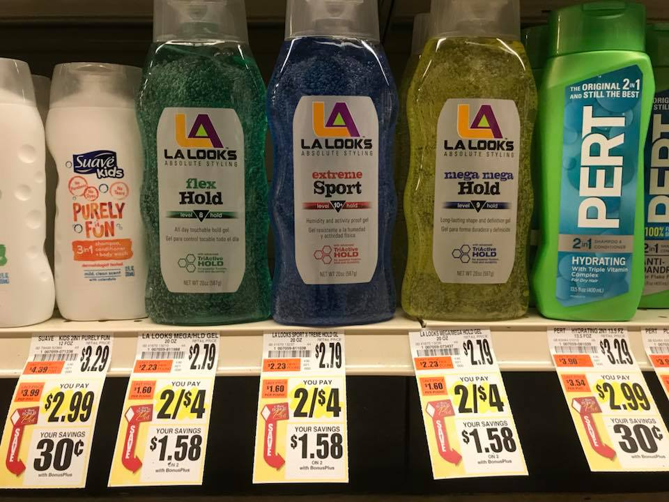 La Looks Gel At Tops Markets