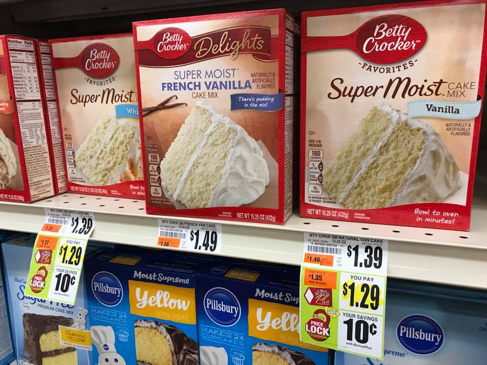 Betty Crocker Cake Mix At Tops Markets