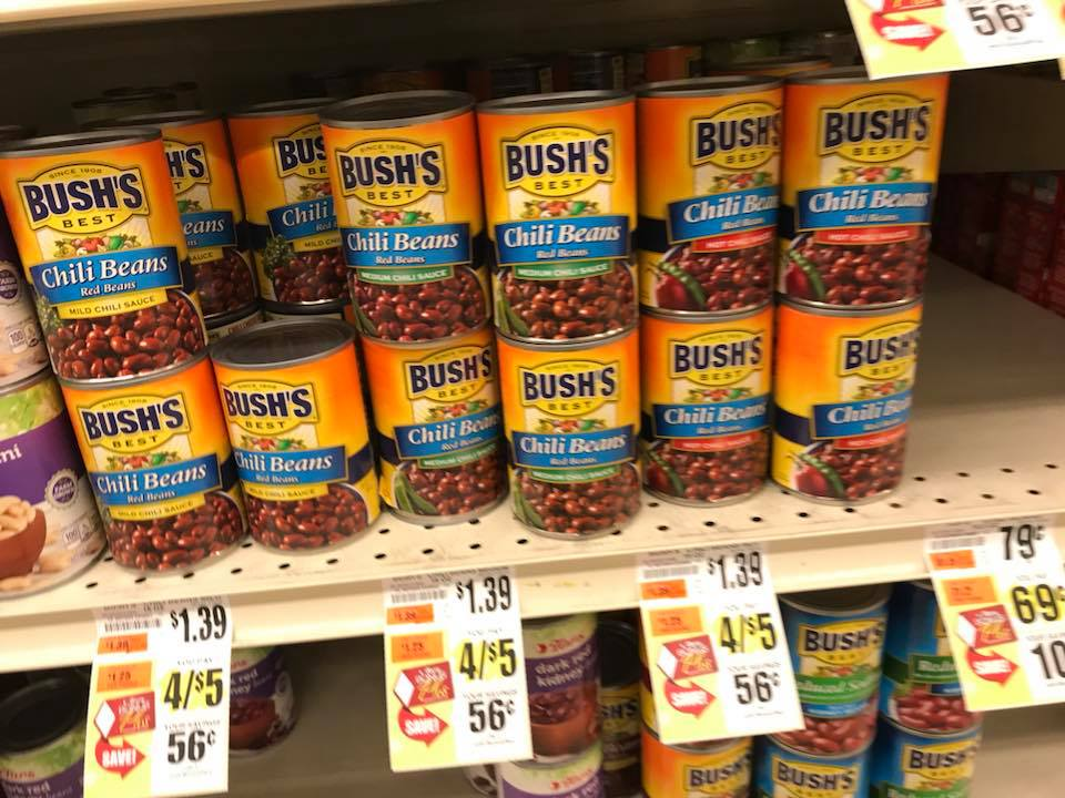 Bushs At Tops Markets
