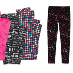 Girls Leggings $5 At Jcpenney