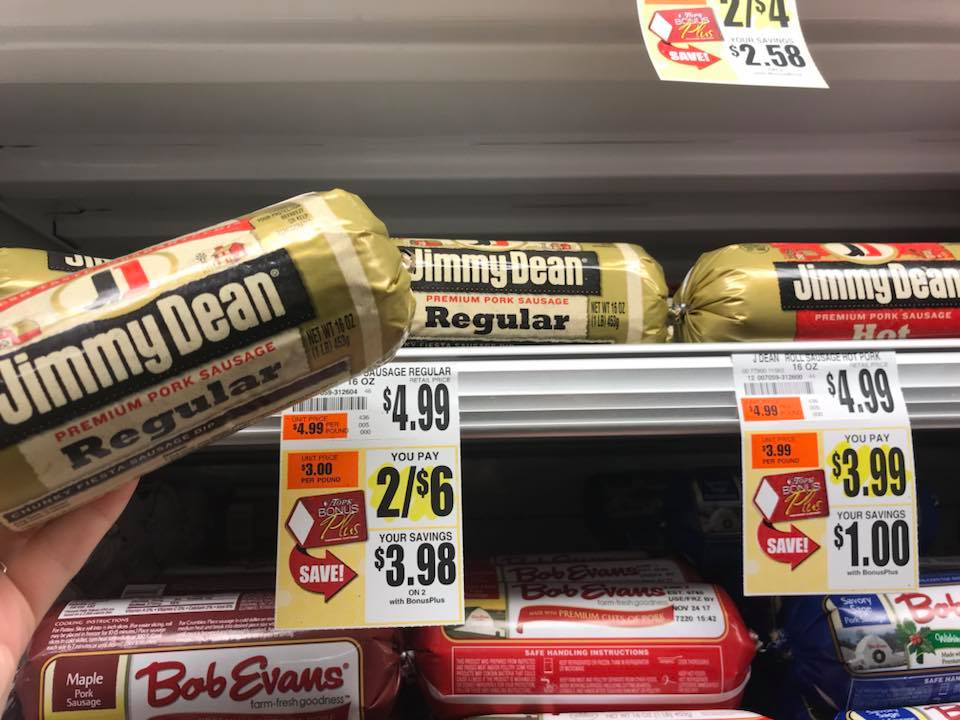 Jimmy Dean Sausage At Tops Markets Offer With Rebate