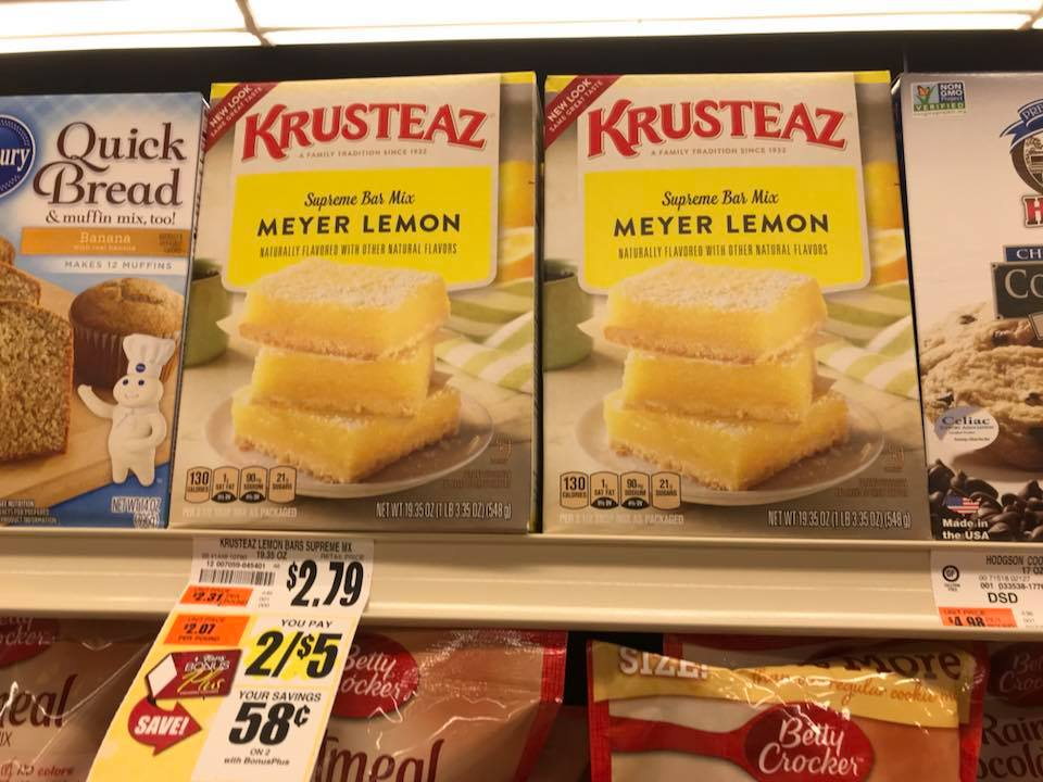 Krusteaz At Tops Markets