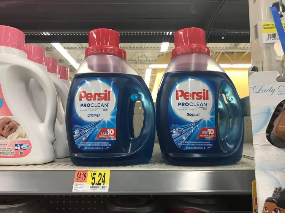 Persil Detergent At Walmart