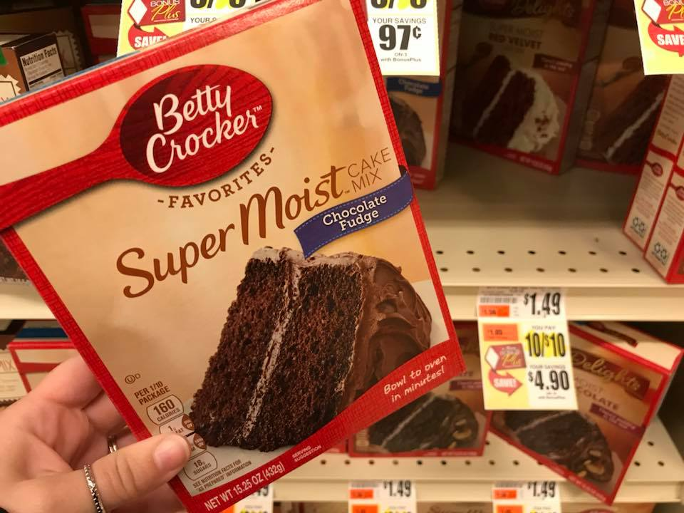 Betty Crocker Cake Mix FREE At Tops Markets