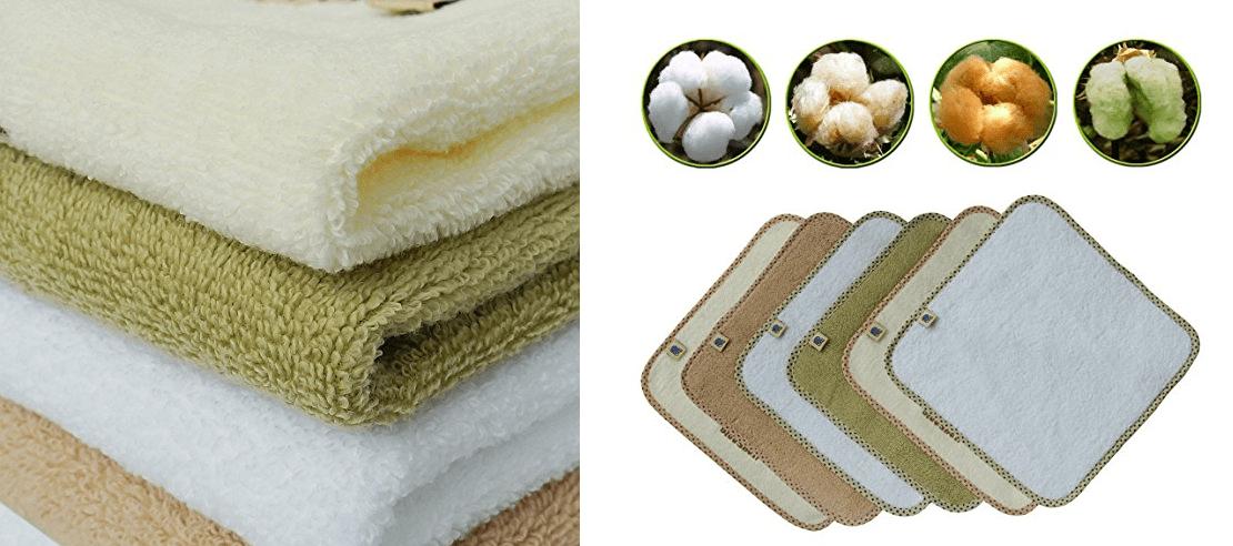 Organic Baby Wash Clothes