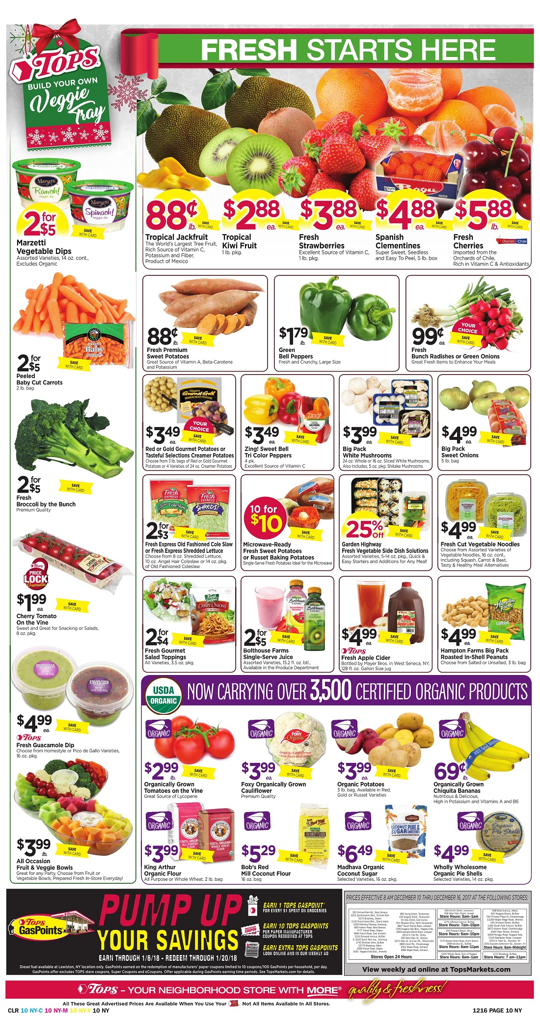 Tops Markets Ad Preview Week 12 10 Page 10