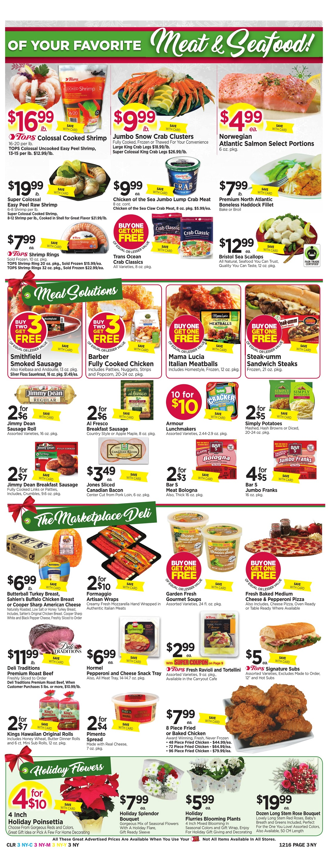 Tops Markets Ad Preview Week 12 10 Page 3