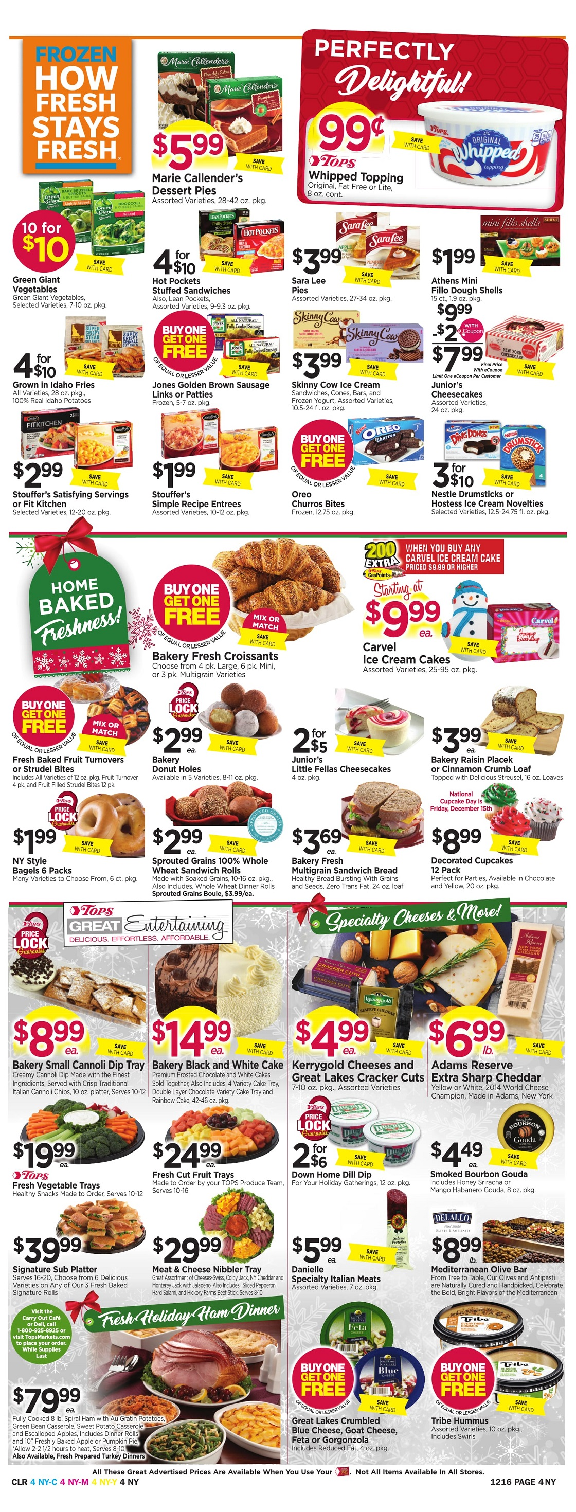 Tops Markets Ad Preview Week 12 10 Page 4