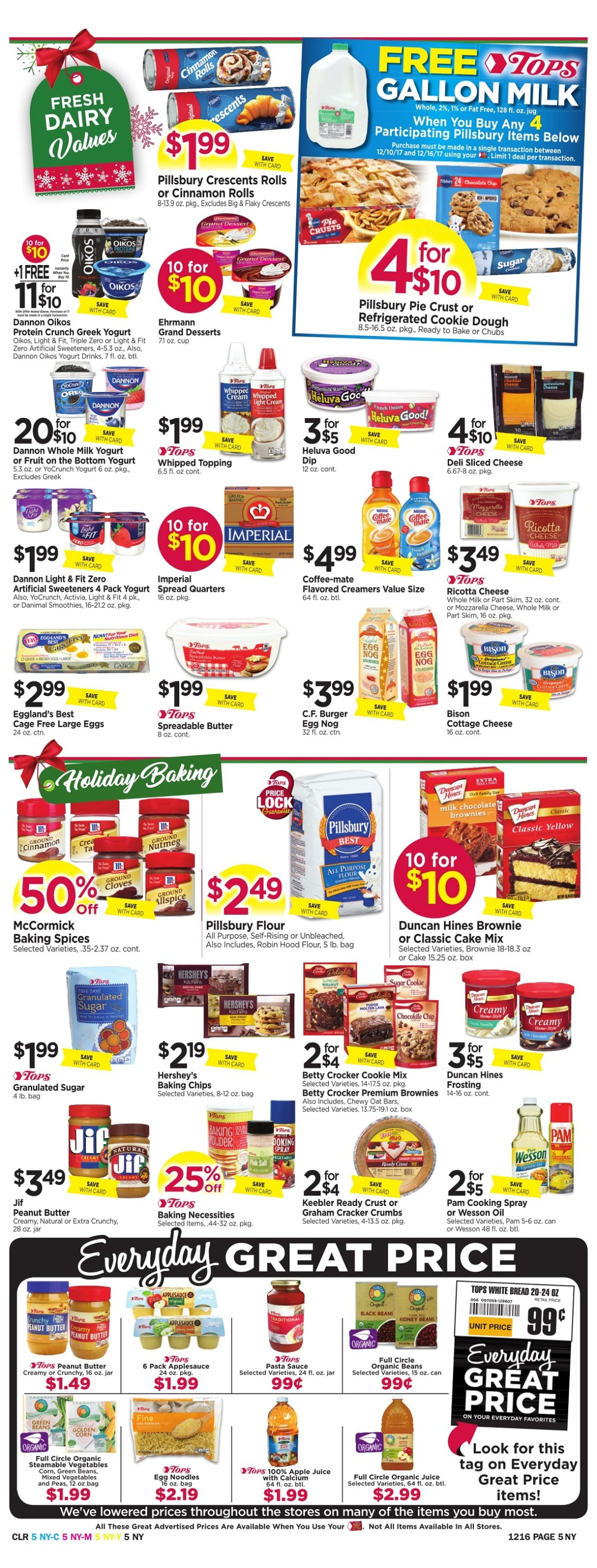 Tops Markets Ad Preview Week 12 10 Page 5