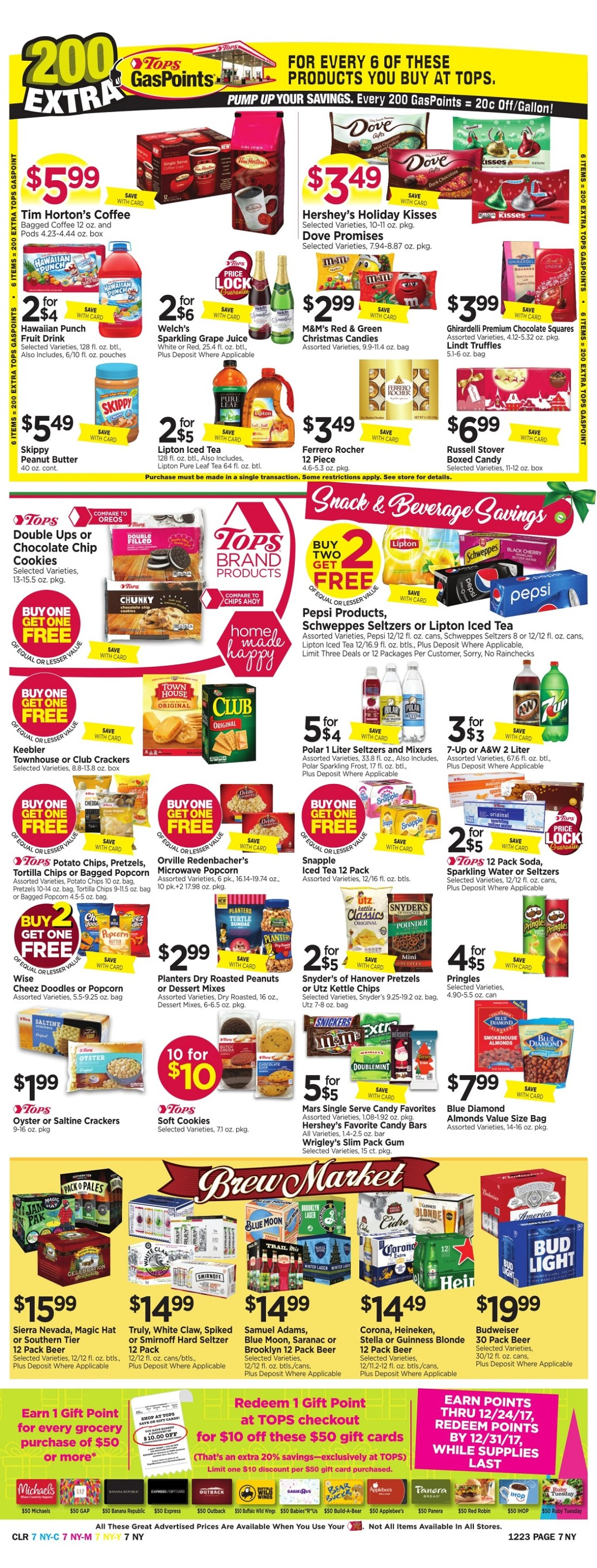 Tops Markets Ad Scan Week 12 17 Page 7