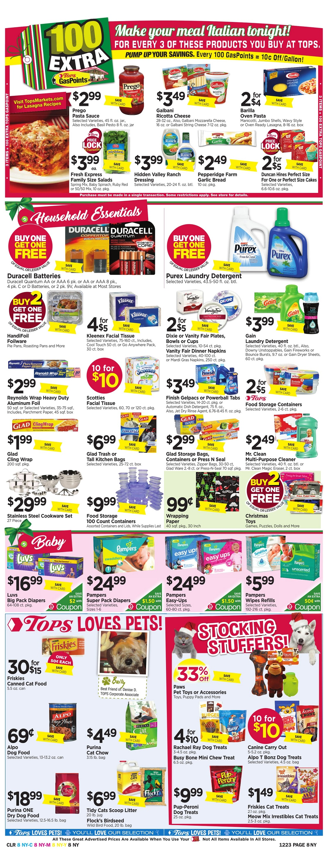 Tops Markets Ad Scan Week 12 17 Page 8