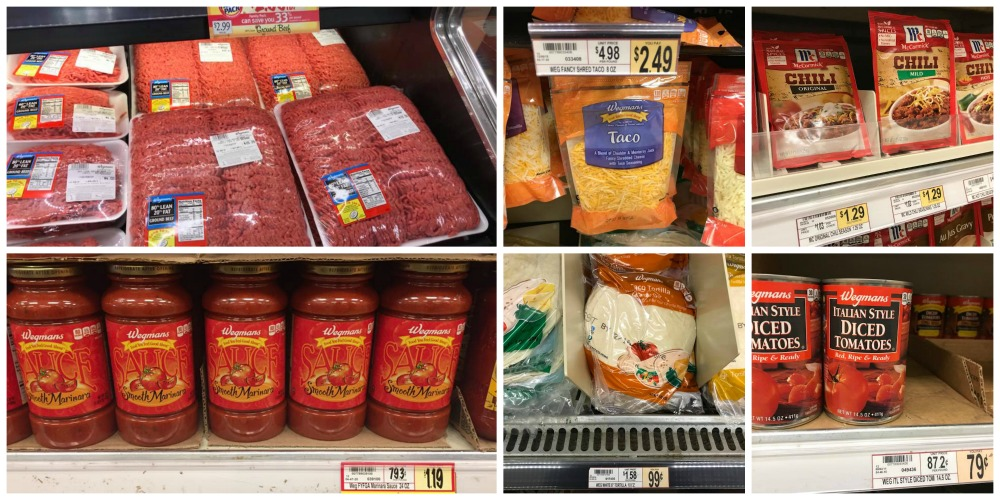 Wegmans Meal Deal Price Comparison To Tops Markets