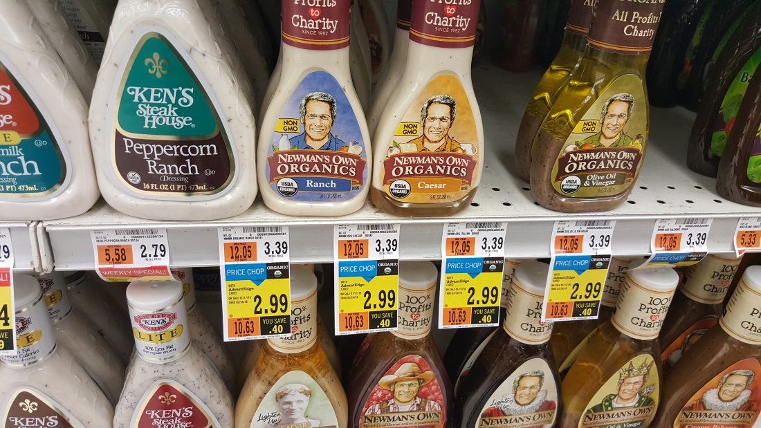 Newman's Own Organic Dressing at Price Chopper