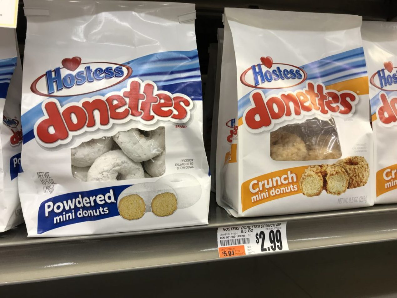 Hoestess Donettes At Tops Markets