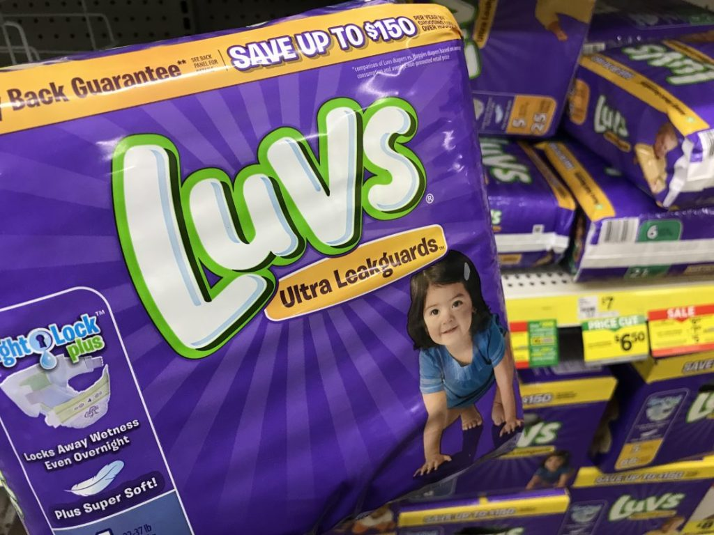 Luvs Sale At Dollar General