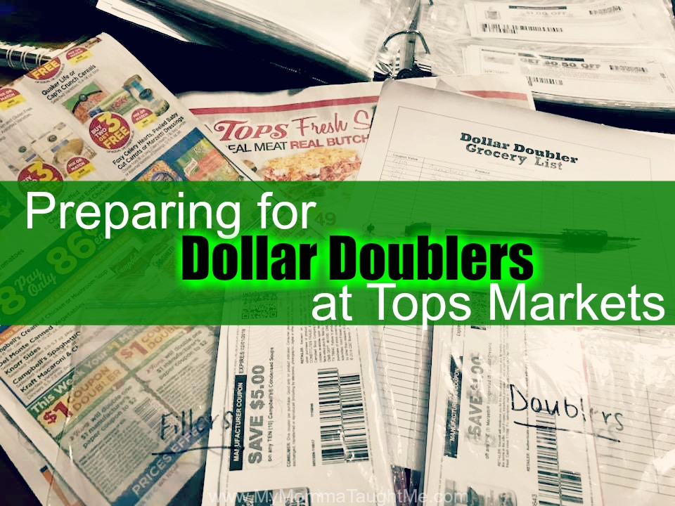 Preparing For Dollar Doublers At Tops Markets
