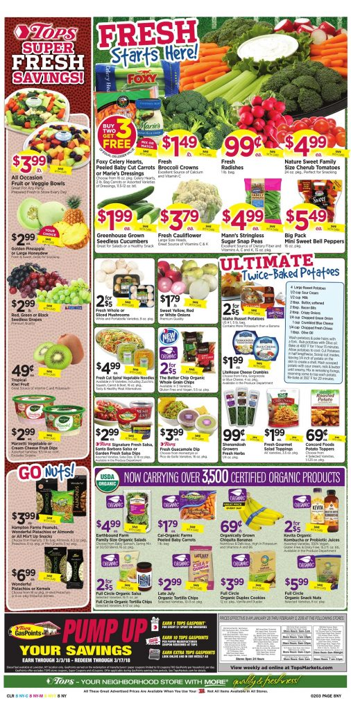Tops Markets Ad Preview Week 1 28 18 Page 8
