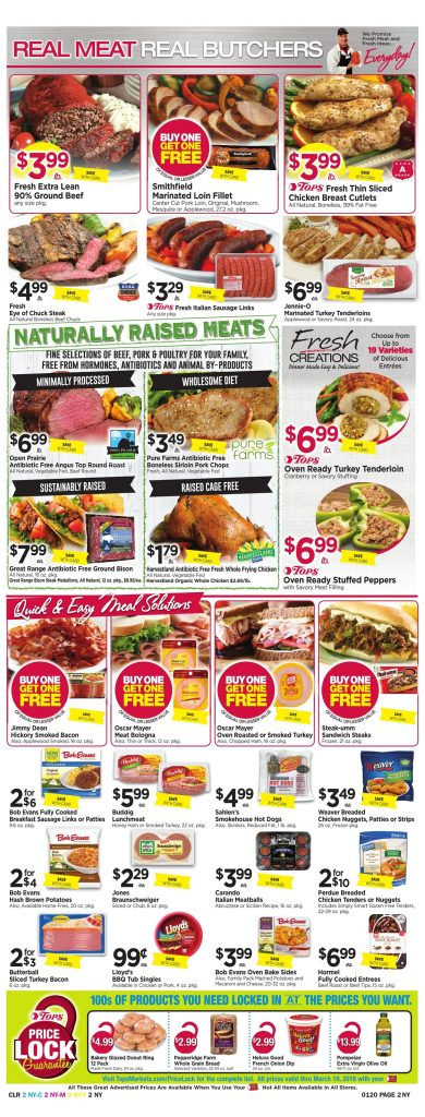 Tops Markets Ad Scan Preview Week 1 14 18 Page 2