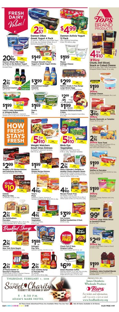 Tops Markets Ad Scan Preview Week 1 14 18 Page 4