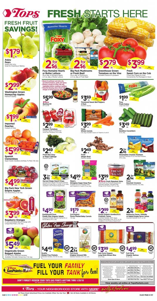 Tops Markets Ad Scan Preview Week 1 14 18 Page 8