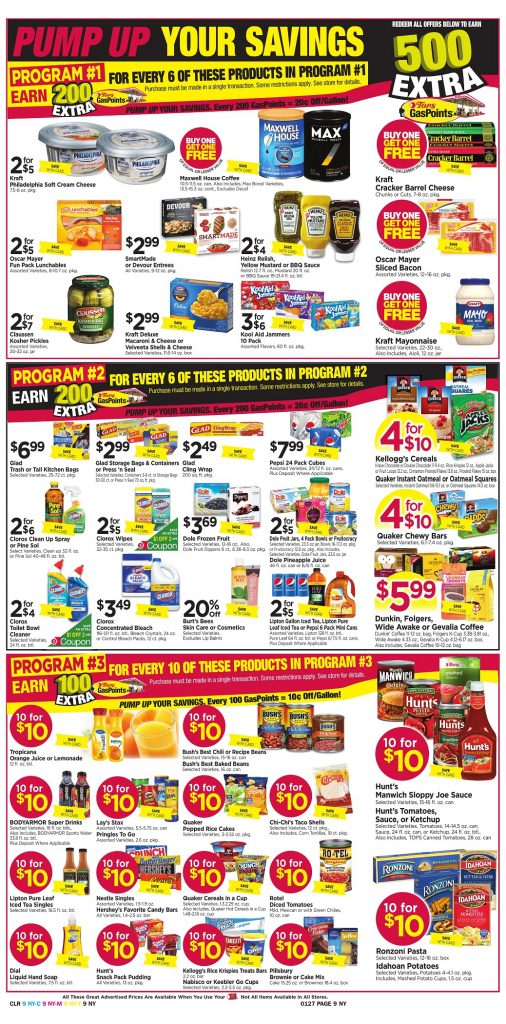Tops Markets Ad Scan Week 1 21 18 Page 9