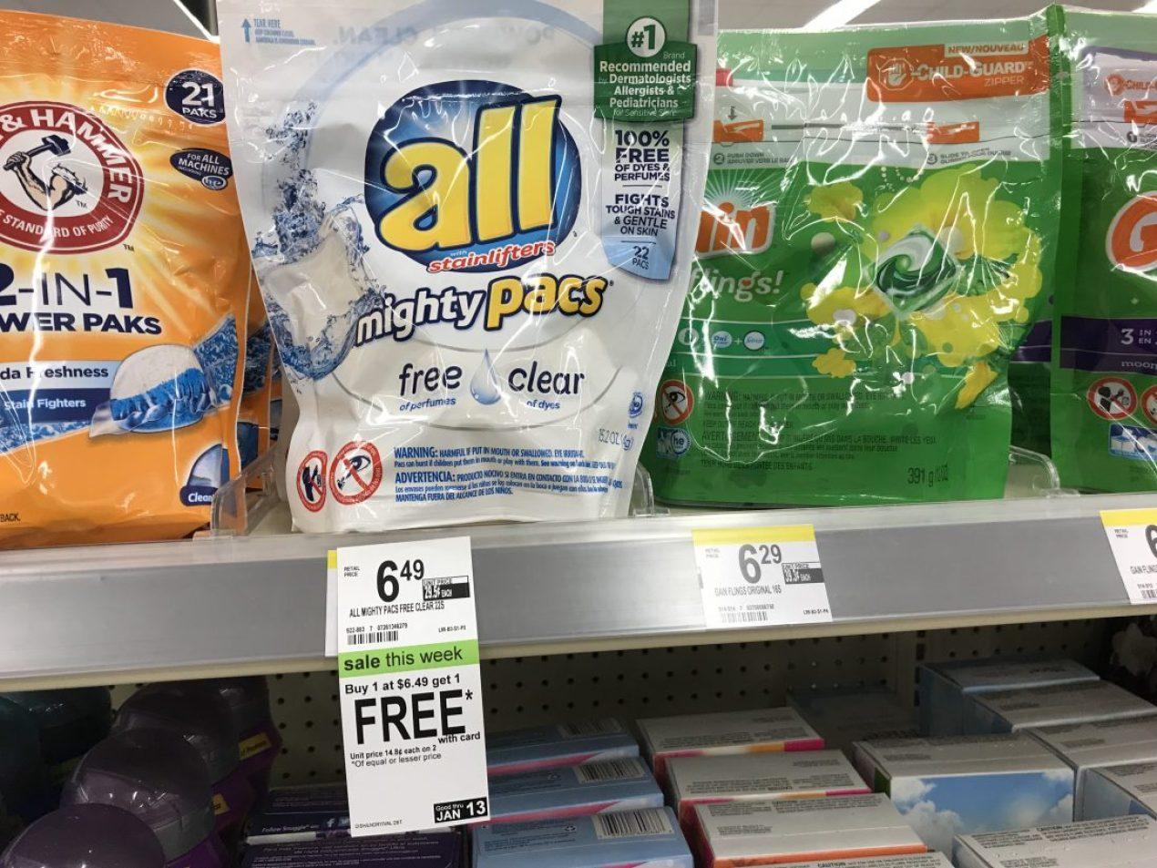 All Mighty Pacs At Walgreens