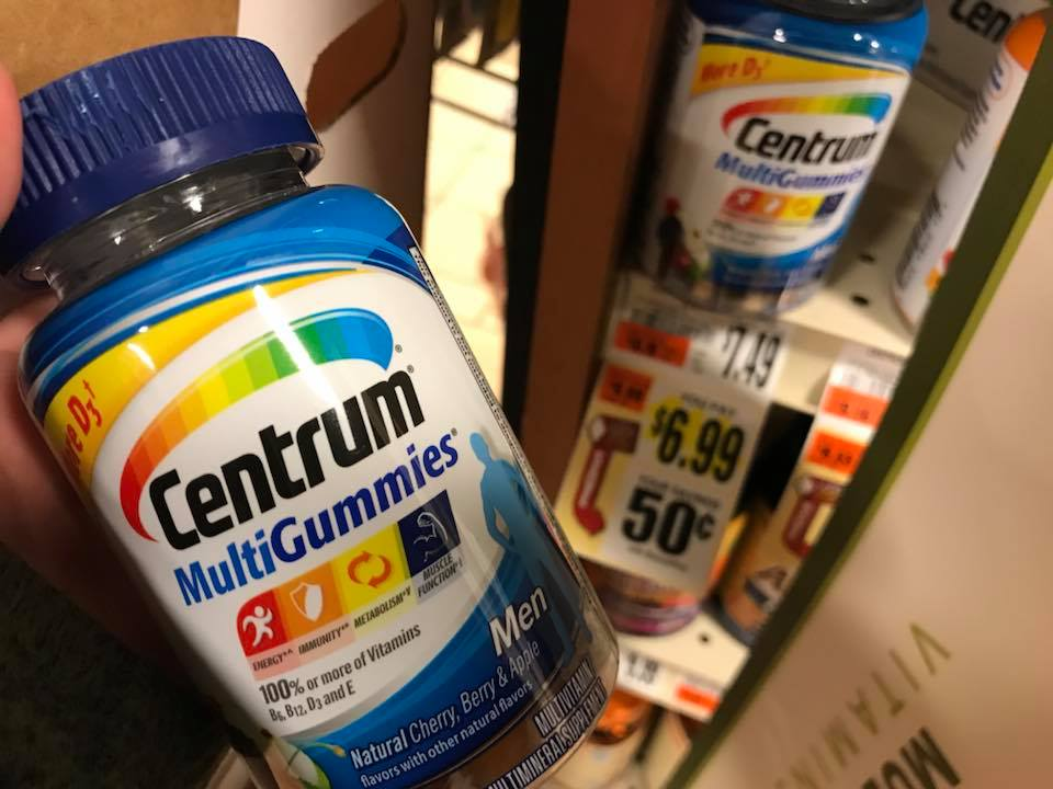 Centrum $2 99 At Tops