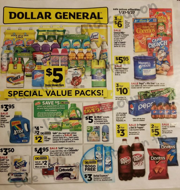 Dollar General Ad Week 1 21 Page 4